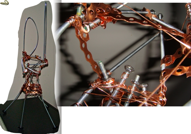 How I Made An Armature For Ferrocement Sculpture Without
